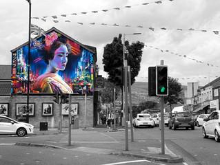 Belfast - New 'Hope' Mural