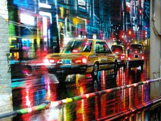New mural works in Hong Kong