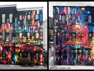 Epic scale murals worldwide!
