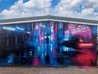 New mural in Essex