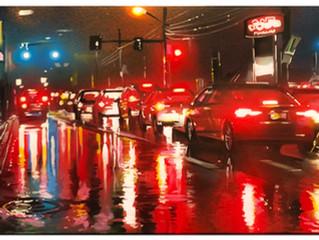 'Pittsburgh Nights' - Original painting