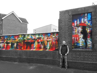 New mural in Bristol