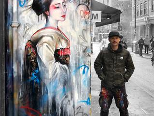 'Street Geisha' - New mural