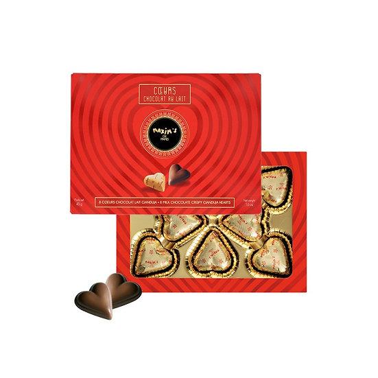 Etui 8 Coeurs Chocolat Maxim's