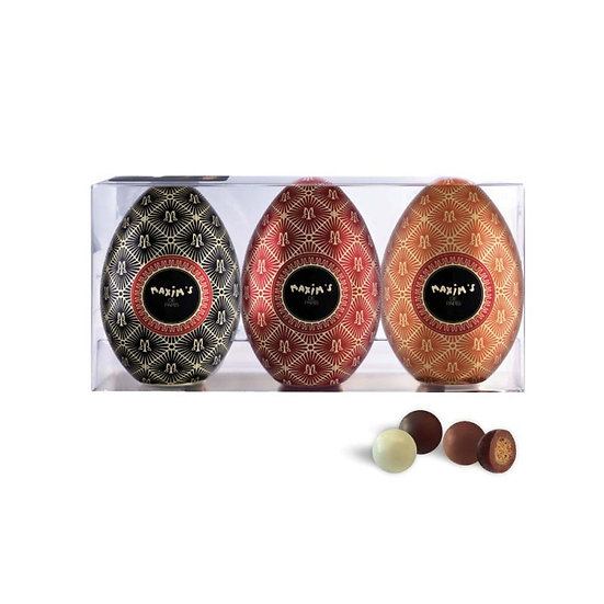 Etui Collection Maxim's 3 Minis Oeufs