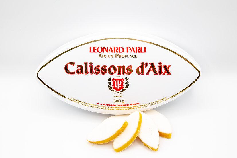 Boîte Traditionnelle Calissons d'Aix Léonard Parli 380g