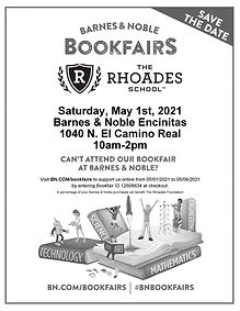 Barnes and Noble Book Fair Flyer Spring.