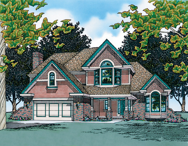 Mansell Two-Story Home