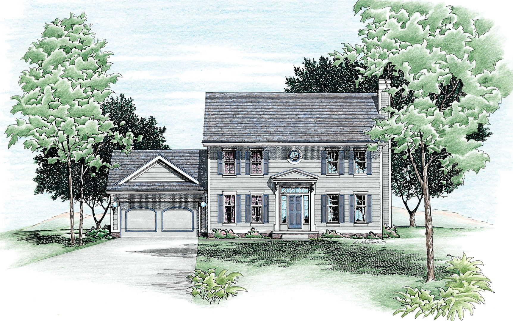 Columbus Two-Story Home