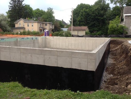 Poured Foundation