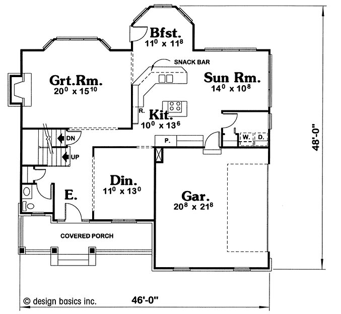 custom home plan
