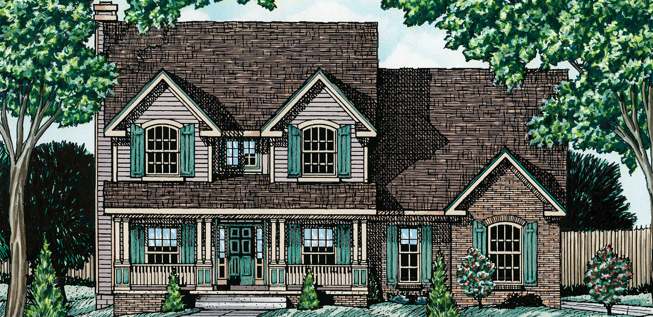 Rochdale Two-Story Home