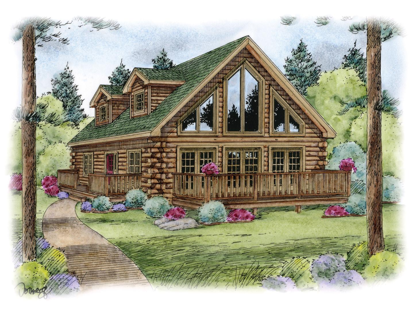 Cedarwood Two-Story Home