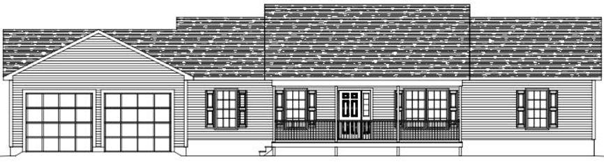 ranch house blueprints