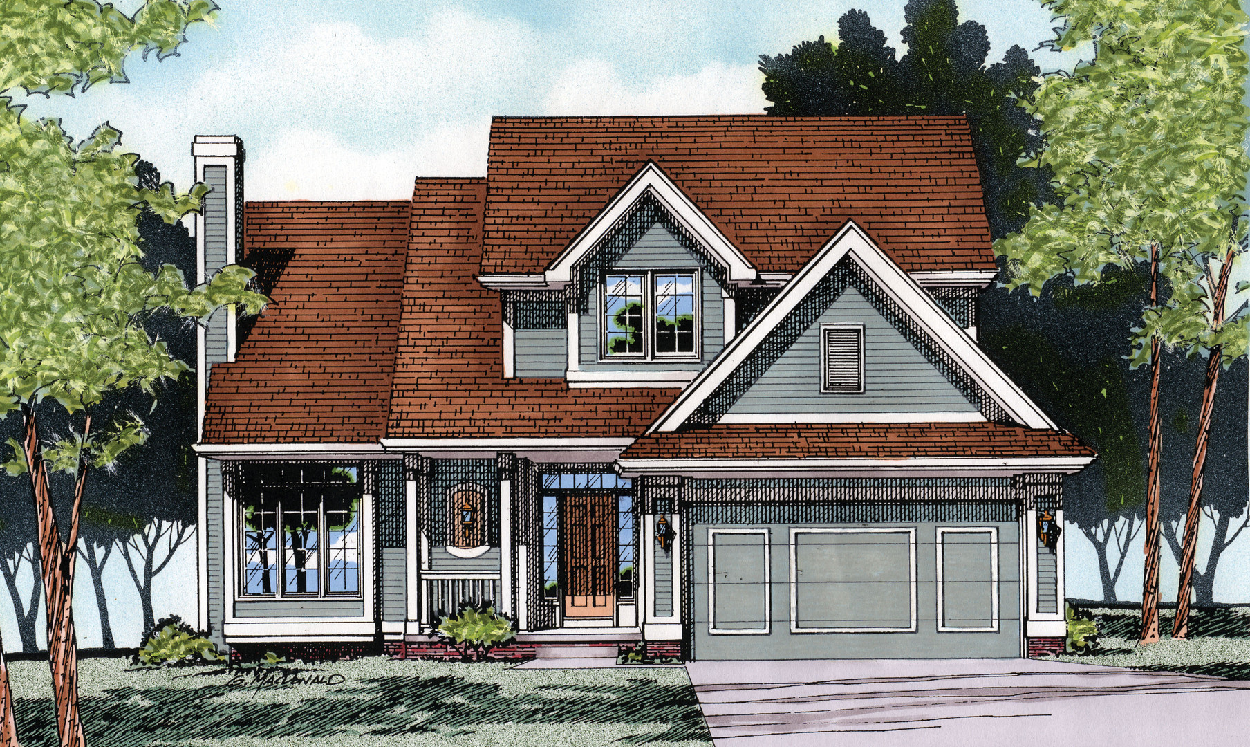 Arbor Two-Story Home
