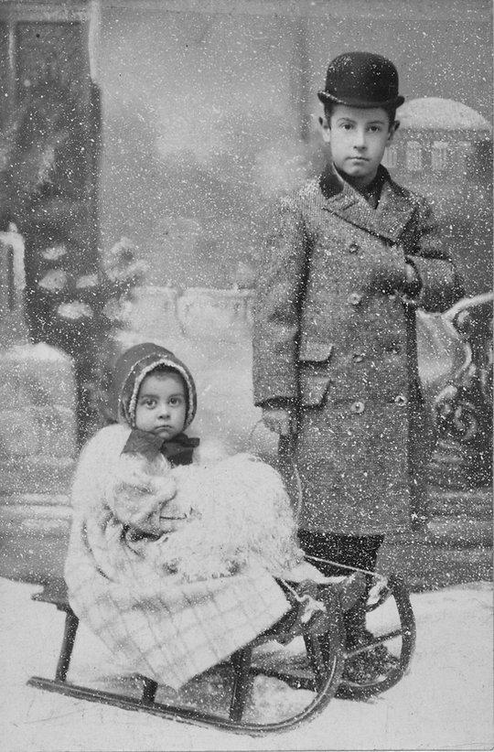 Ray John Reigeluth & Sister Ethel Anne R