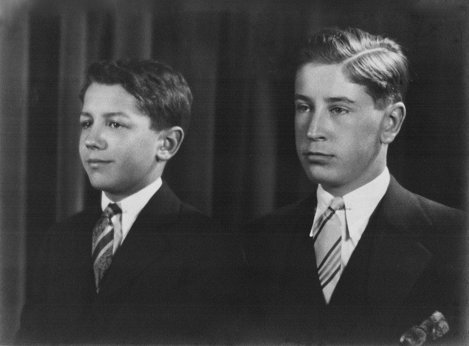 John & Robert Reigeluth (about 12 and 10
