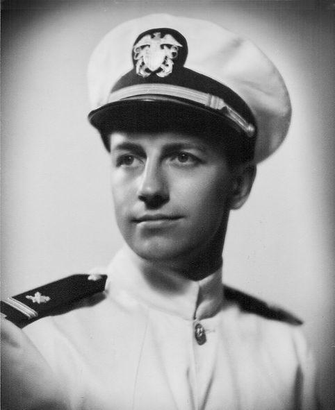 Robert Seelye Reigeluth in Navy Uniform.