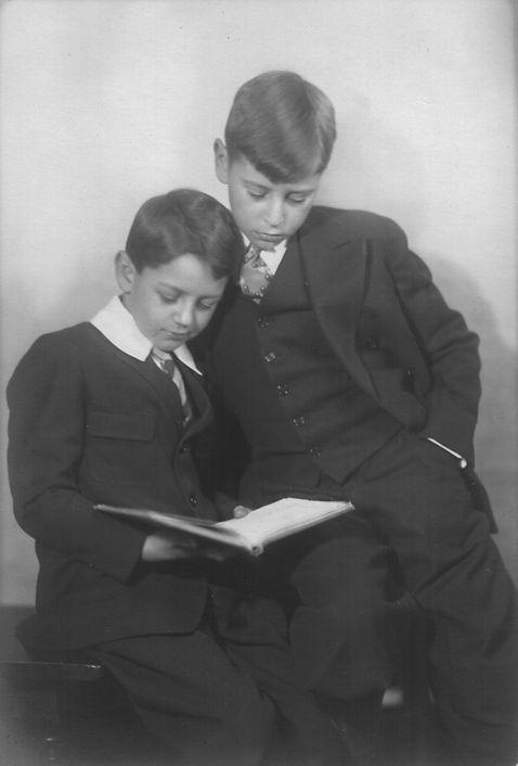 John & Robert Reigeluth (about 10 and 8)