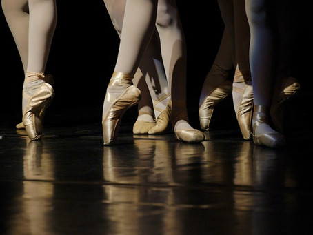 Ballet Shoes And Pointe Shoes