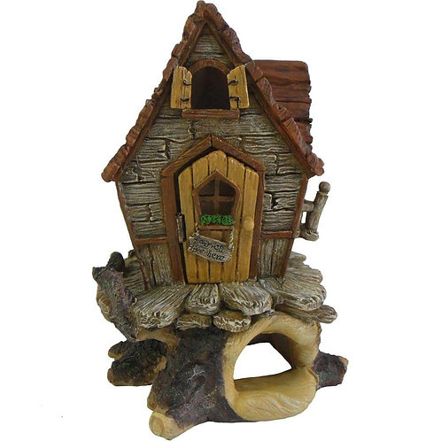 Treetop Cottage Fairy House