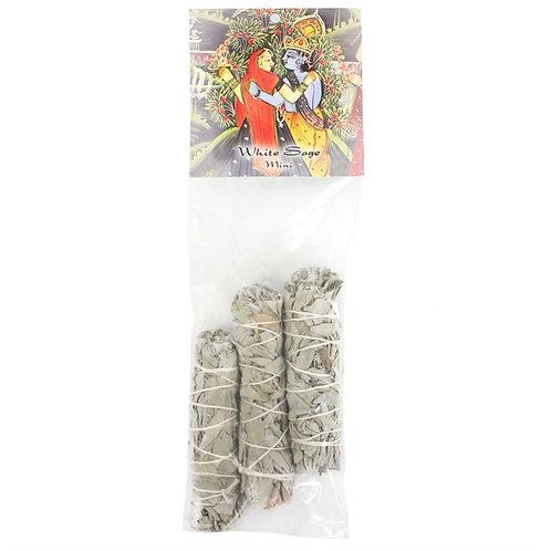 Pack of 3 White Sage Smudge Sticks