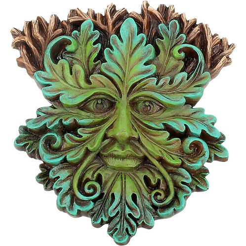 Oak King Wall Plaque by Nemesis Now