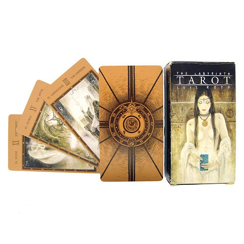 The Labyrinth Tarot Cards by Luis Royo