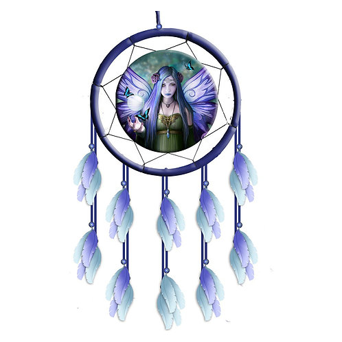 Mystic Aura Dreamcatcher by Anne Stokes