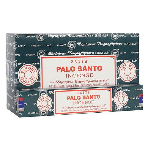 Palo Santo Incense Sticks by Satya