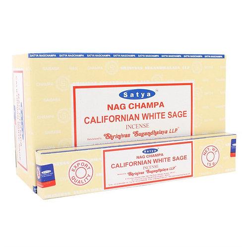 Californian White Sage Incense Sticks by Satya