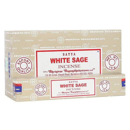 White Sage Incense Sticks by Satya