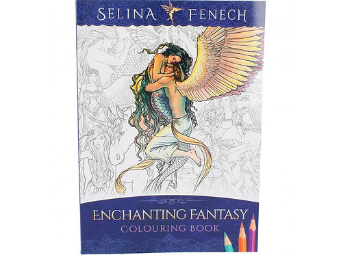 Enchanting Fantasy Colouring Book by Selina Fenech