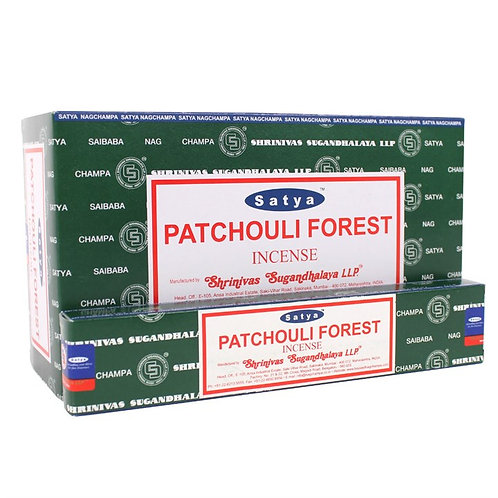 Patchouli Forest Incense Sticks by Satya