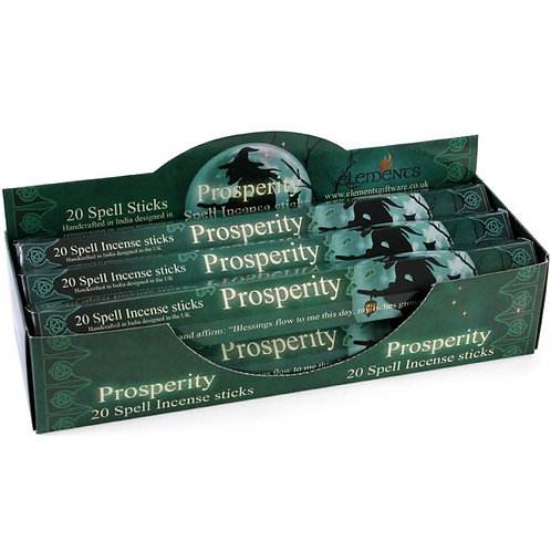 Prosperity Spell Incense Sticks by Lisa Parker