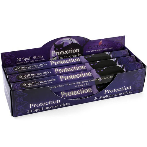 Protection Spell Incense Sticks by Lisa Parker
