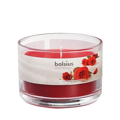 Velvet Rose Aromatic Scented Candle Jar