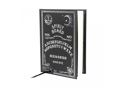 Black and White Spirit Board Embossed Journal by Nemesis Now