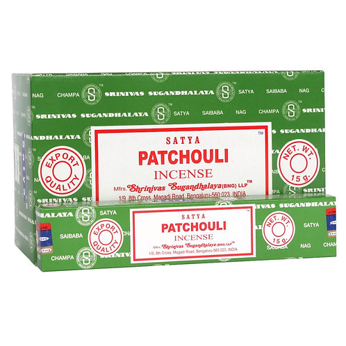 Patchouli Incense Sticks by Satya