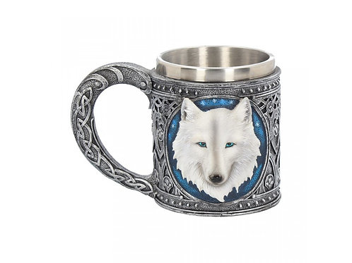 Ghost Wolf Tankard by Nemesis Now