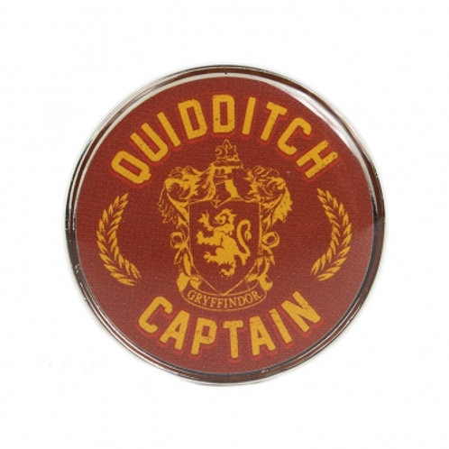 Quidditch Captain Pin Badge - Harry Potter