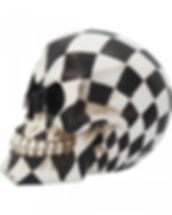 Harlequin Skull by Nemesis Now 6