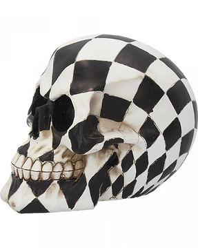 Harlequin Skull by Nemesis Now 6