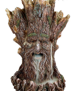 Tree Spirit Backflow Incense Tower by Ne