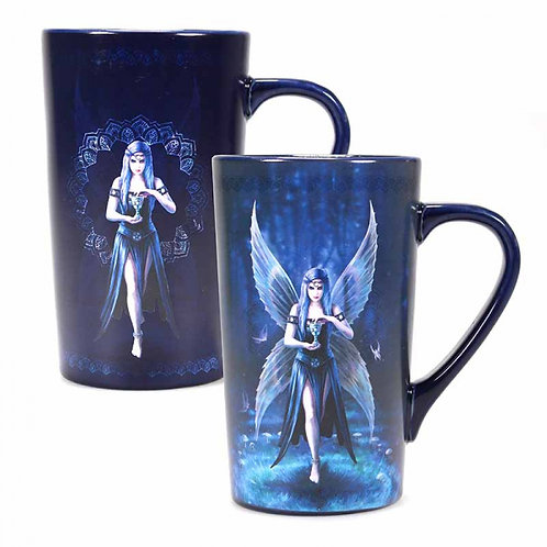 Enchantment Heat Changing Latte Mug By Anne Stokes