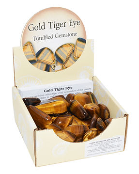 Gold Tiger Eye Tumblestone