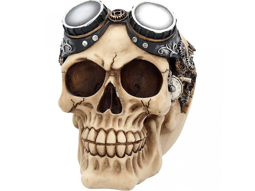 Goggles Skull by Nemesis Now