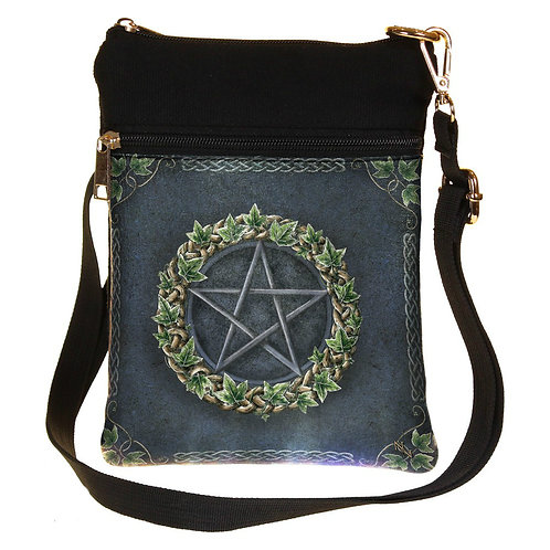 Ivy Pentagram Shoulder Bag by Nemesis Now