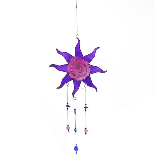 Purple and Pink Suncatcher