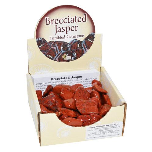 Brecciated Jasper Tumblestone